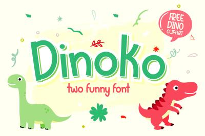 Dinoko Font Duo