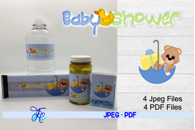 Baby Shower Boy - Bear