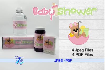 Baby Shower Girl - Bear