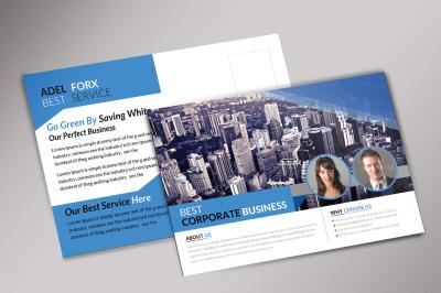 Best Corporate Business Postcard