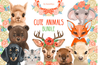 Cute animals BUNDLE