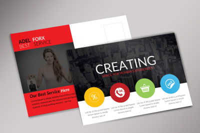 CreativeBusiness Postcard