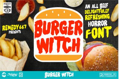 Burger Witch - Free Range Typeface