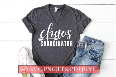 Chaos Coordinator SVG Design Cut File