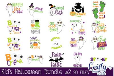Kids Halloween Bundle Svg 2