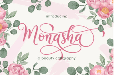 Monasha | Beauty Calligraphy