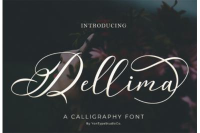 Dellima | Wedding Calligraphy Font