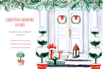 Christmas Holiday Doors Creator