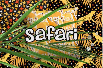 Safari. Kids Pattern Collection
