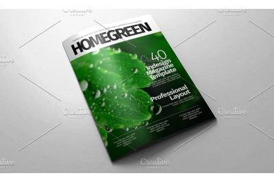 Indesign magazine Template v.01