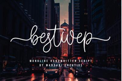Bestwep | Monoline Handwritten Script