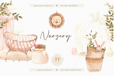 Watercolor Nursery