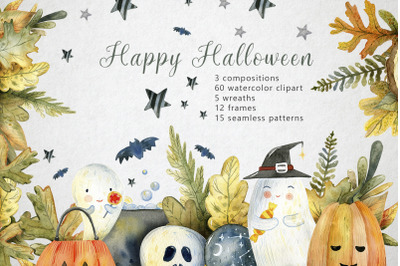 Magic Halloween Watercolor Set