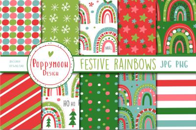 Festive Rainbow paper