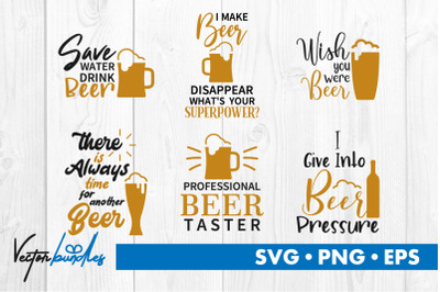 Beer quote bundle svg
