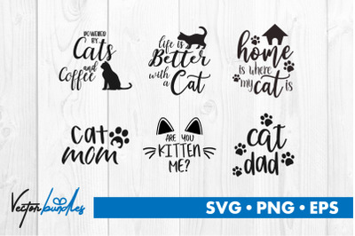 Cat quotes bundle svg