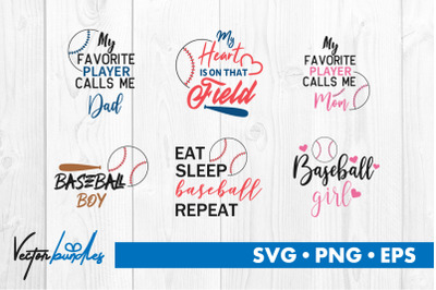 Baseball quotes bundle svg