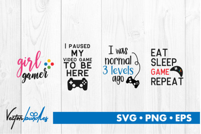 Game quotes bundle svg