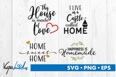 House quotes bundle svg