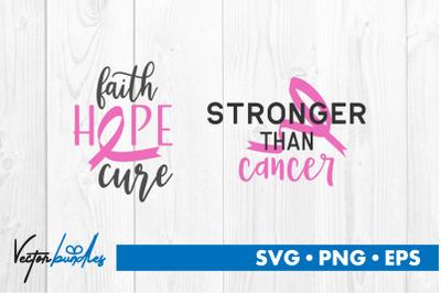 Cancer quotes bundle svg