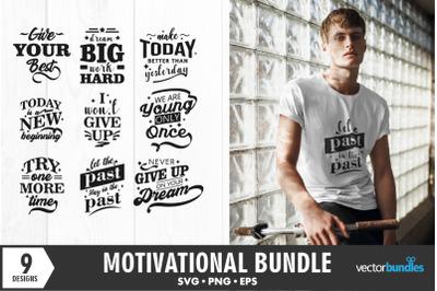 Motivation bundle quotes svg