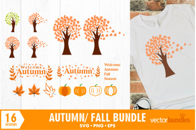 Autumn fall clip art svg