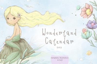 Wonderland Calendar 2021