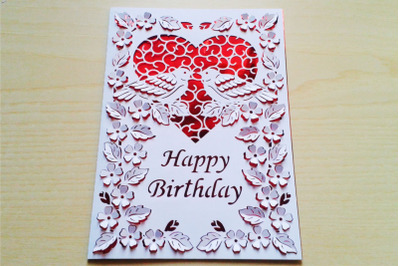 PopUp Happy Birthday, Happy Anniversary, Happy Valentine's Day SVG