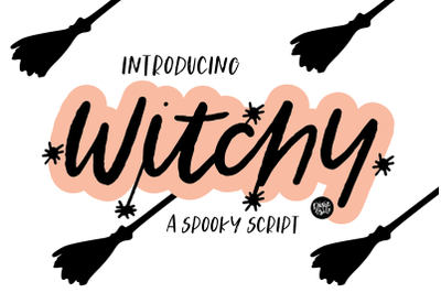WITCHY Distressed Halloween Font