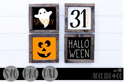 Halloween mini sign bundle