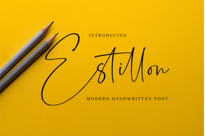 Estillon - Script Handwritten Font