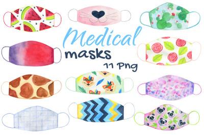 Handmade Medical Face Mask Fashion Art Transparent Png