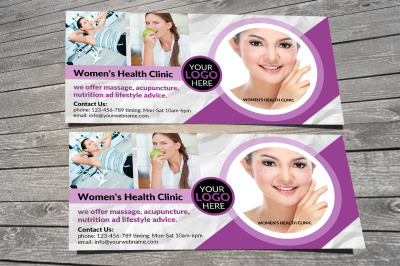 Health Clinic Gift Voucher