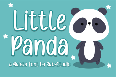 Little Panda - Quirky Font