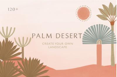 Palm desert landscape creator