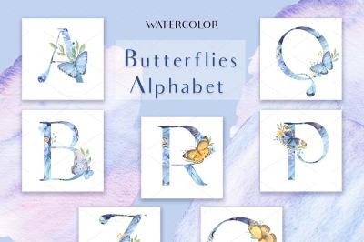 Butterflies Alphabet
