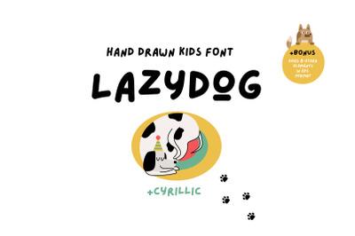 Lazydog Kids Font
