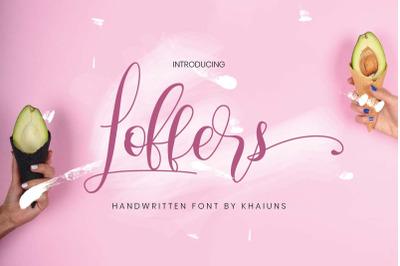 Loffers Script Font