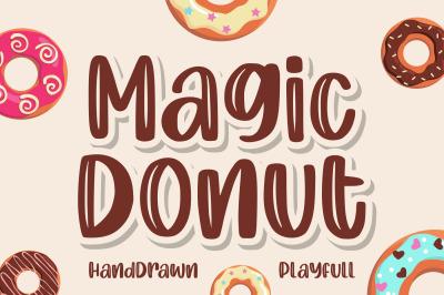 Magic Donut   Handdrawn Playfull