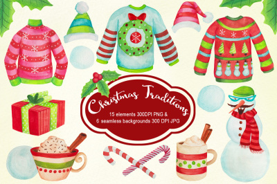 Christmas Sweaters & Traditions Graphics