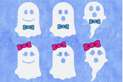Halloween SVG, Ghost SVG, Cute Ghost SVG Cut Files, Spooky Cute.