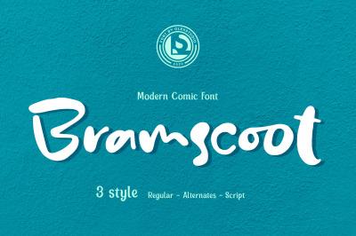 Bramscoot - modern comic