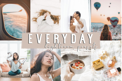 EVERYDAY Bright Clean Lifestyle Lightroom Presets