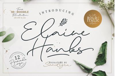 Elaine Hanks (+Feminine Logo Pack)