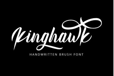 Kinghawk - Handwritten Brush Font