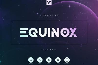 Equinox - Logo Font