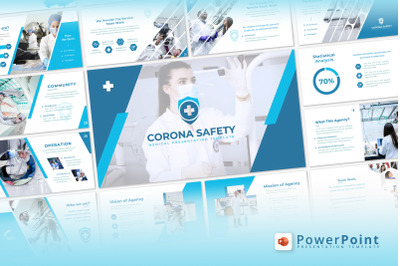 Corona Safety - PowerPoint Template