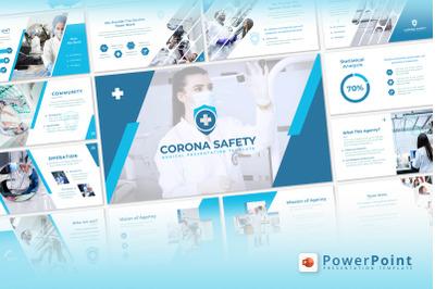 Corona Safety - Google Slide
