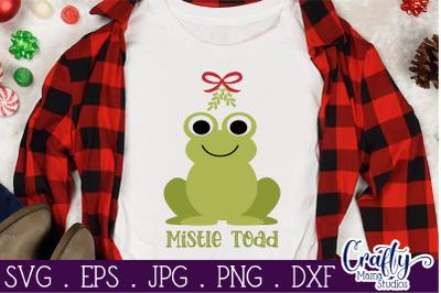 Christmas Svg, Animal Svg, Toad, Frog, Mistle Toad Mistletoe