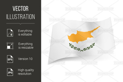"""""""State flag of Cyprus."""""""